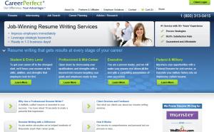 プロの英語の履歴書作成サービスCareer Perfect