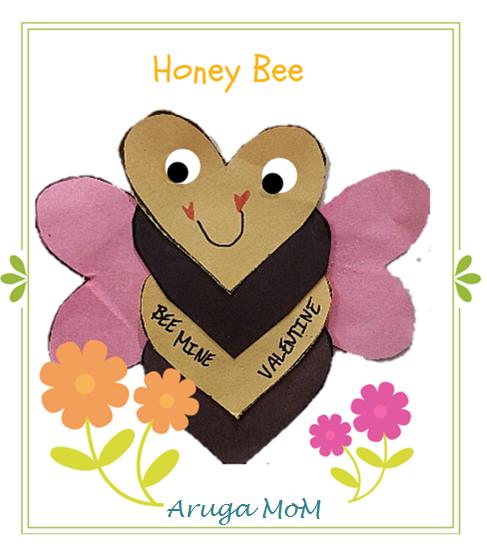 幼児アート、ミツバチ