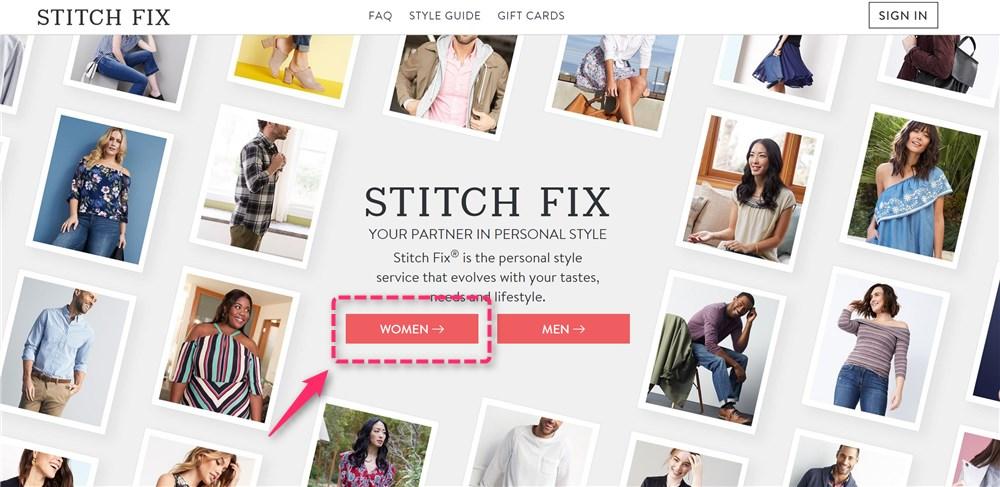 洋服を選んでくれるサービスStitch Fixの登録方法