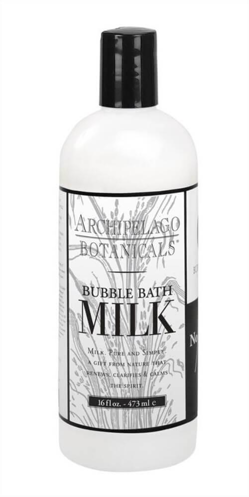アメリカで買うおみやげアイデア。Archipelago - MILK BUBBLE BATH