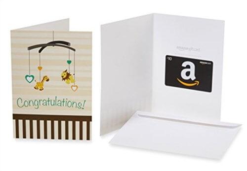 アメリカで買う出産祝い。アマゾンのギフトカード