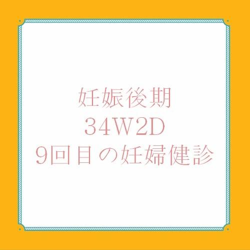 アメリカ出産体験記、34W2D妊婦健診