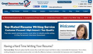 プロの英語の履歴書作成サービス会社Great Resumes Fast