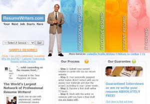 プロの履歴書サービスResume Writers