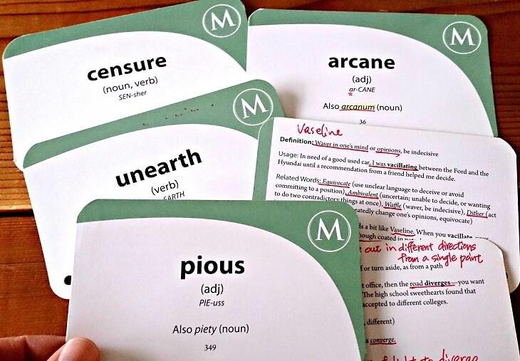 社会人のGRE対策おすすめ単語帳,単語カード,単語リスト