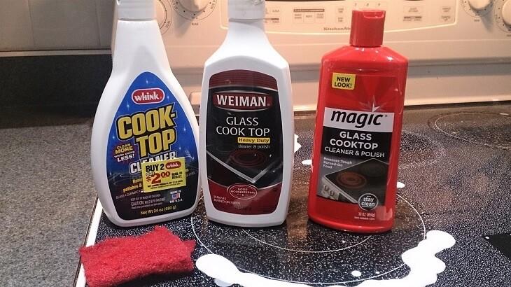 アメリカの電気コンロを掃除する方法