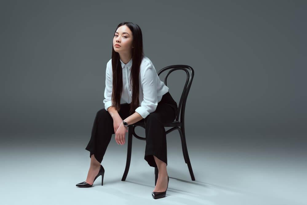 アメリカで生活する美人な中国人