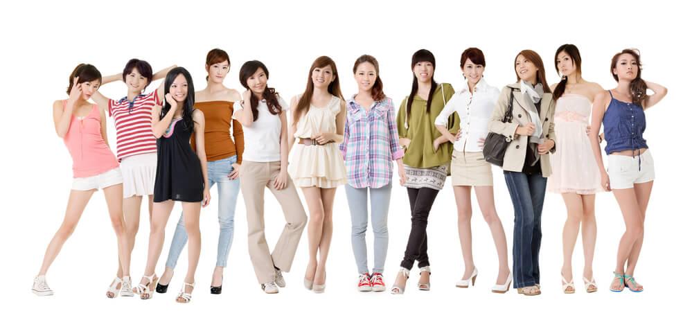中国人に間違えられる服装
