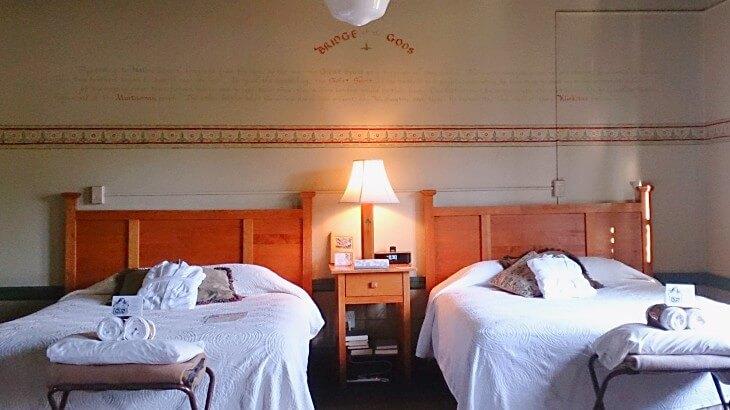 McMenamins Edgefieldの部屋のようす、Oregon, Portlandの宿泊