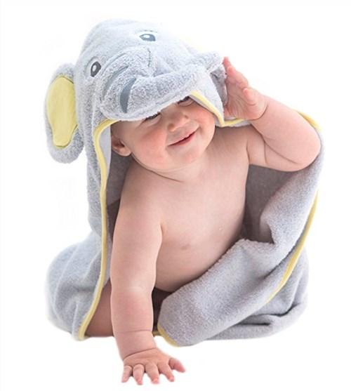 アメリカで出産準備。一人目出産で必要なかったベビーグッズ。赤ちゃん用バスタオル