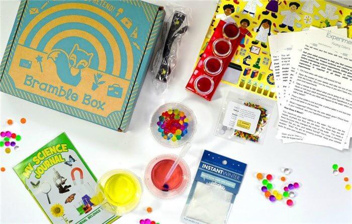 海外の幼児向け通信教育教材Bramble box