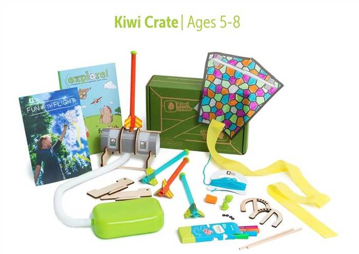 小学生向け、海外の通信教育教材 Kiwi Crate
