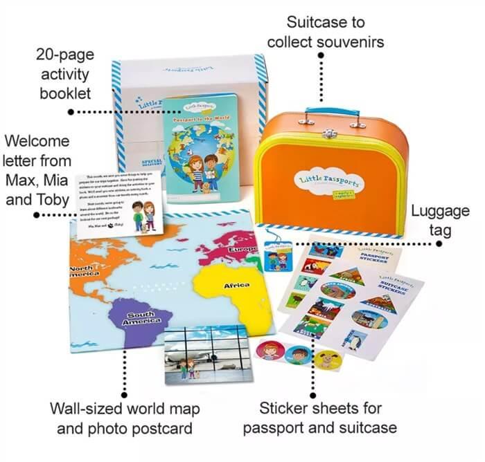 海外の子ども、幼児向けの通信教育教材 世界を学べるLittle Passport
