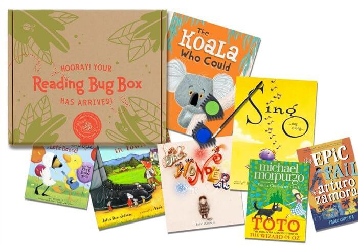 幼児、こども向け英語の絵本の定期便 Reading Bug Box