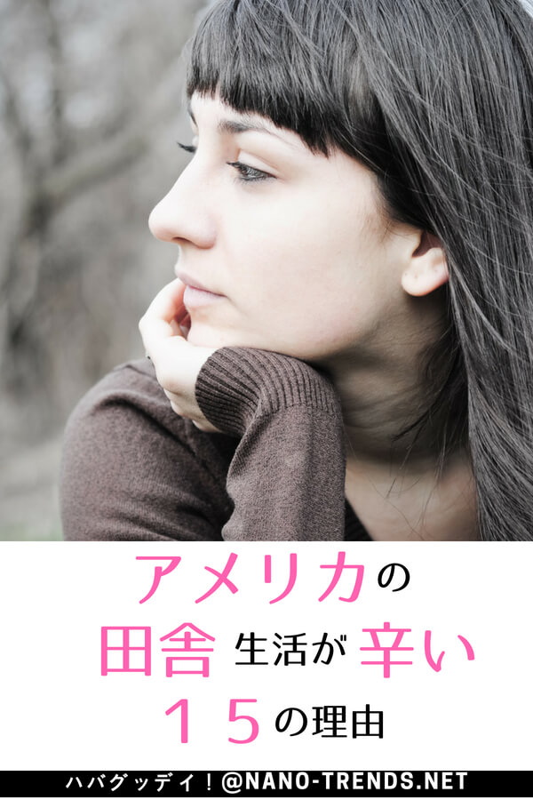 アメリカ生活が辛い。アメリカのど田舎生活は、日本にいたときには想像できませんでした。日本に帰りたい。そんな時に始めた2つのことで救われました。#アメリカ生活