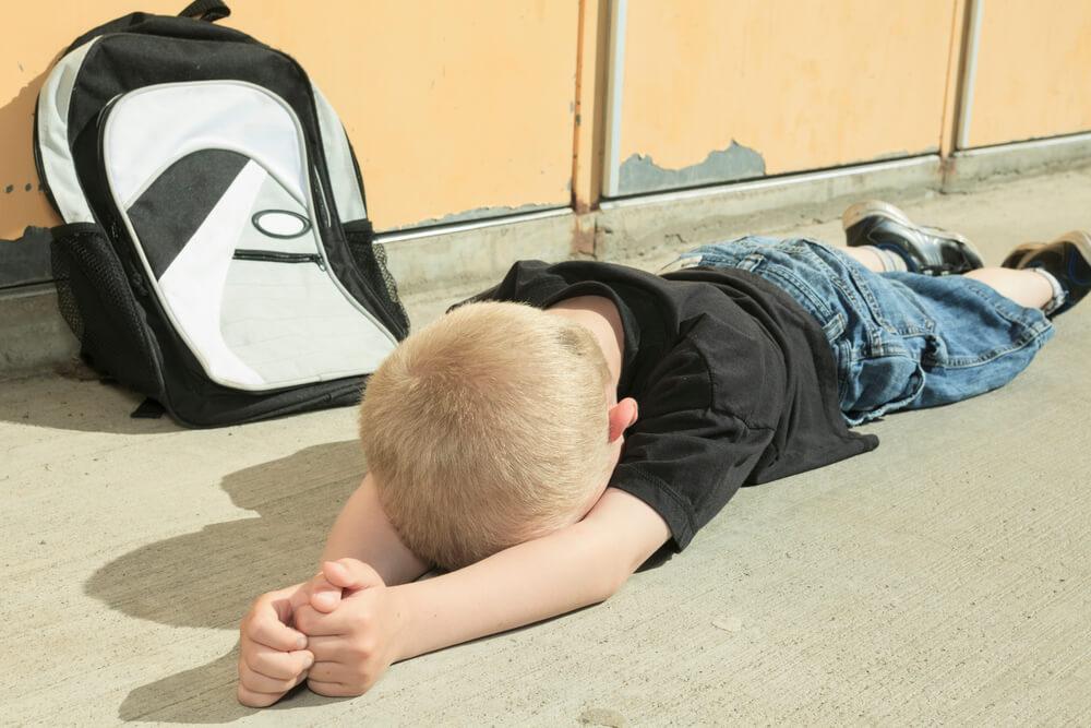海外子育ての悩みの一つは、子どもの保育園や幼稚園。行きたくないという息子に何もできませんでした。