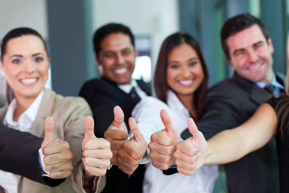 アメリカの残業のない会社で働く人