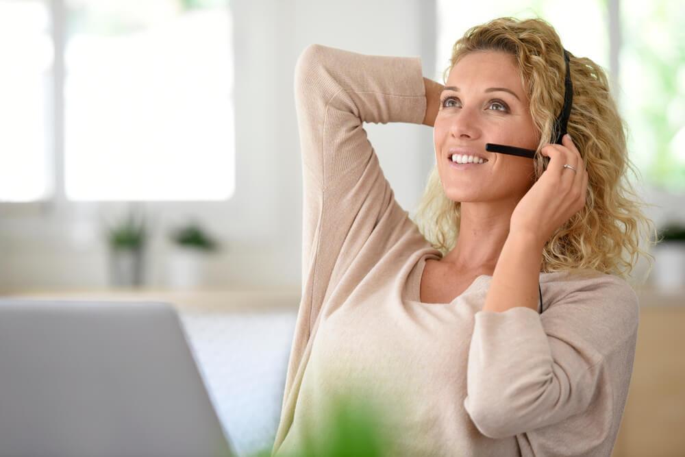 アメリカで在宅でユーザーテストを仕事にしている女性