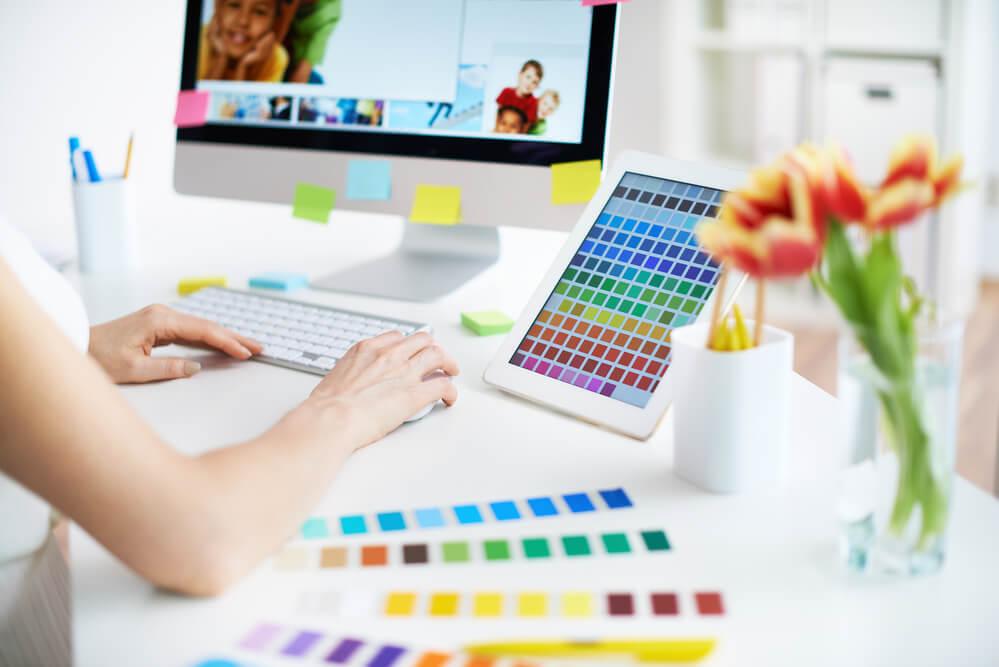 やりたいことがない時にオンラインでデザインの勉強を始めた女性